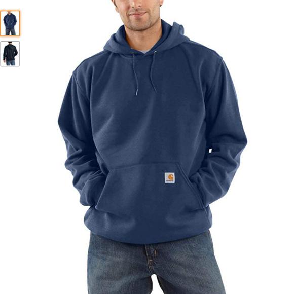 c5cc01e4069 Carhartt Big   Tall Pullover Hoodie Navy Sz Large
